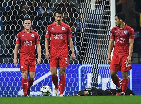 Leicester achieved an anti-record for England in the Champions League