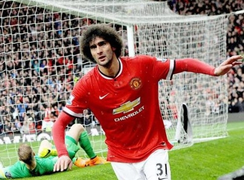 The Red Devils are looking for a buyer of Fellaini