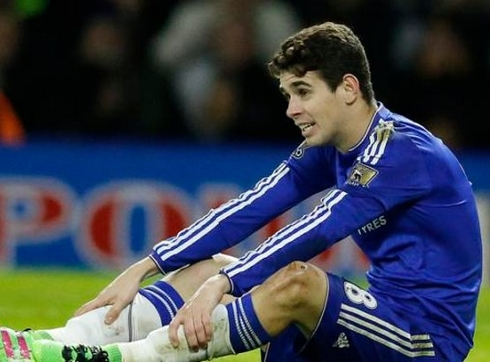 Chelsea is selling Oscar for 52 million pounds!