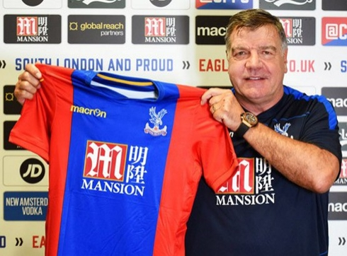 Sam Allardyce is the new manager of Crystal Palace
