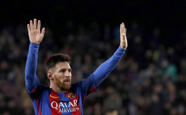 Barcelona is giving 35 million euros to Messi