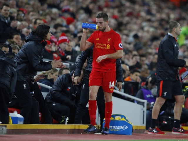 Liverpool lost Henderson for a few days