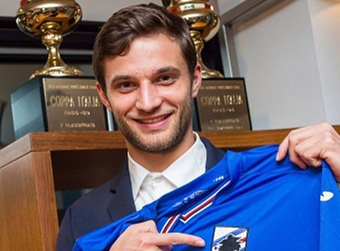 Sampdoria drew a Polish defender
