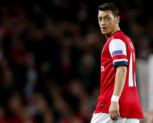 Ozil: 'I changed some things in my life, I am happy in London.'