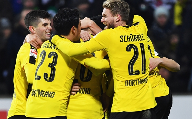 Dortmund drew a 17-year-old talented footballer