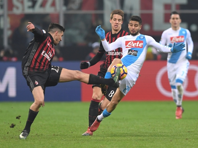 Milan wants to draw Insigne