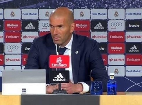 Personnel problems for Zidane