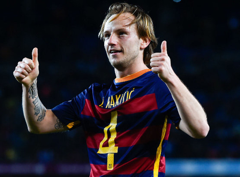 Rakitic: 'I will soon sign a new contract with Barcelona.'