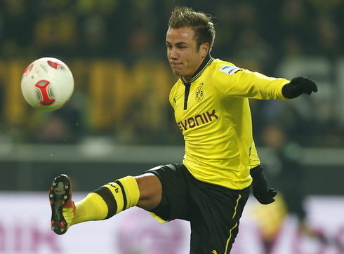 Liverpool is negotiating with Mario Gotze