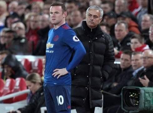Rooney will be out for the second leg against St. Etienne