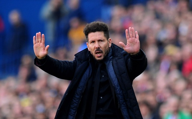 Simeone thinks that the loss against Barcelona is undeserved