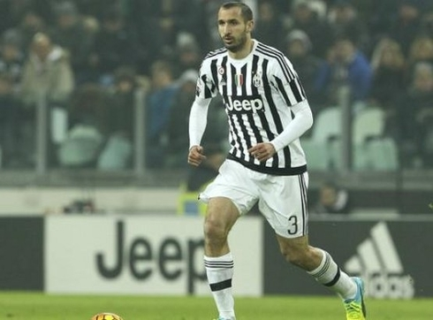 Chiellini is questionable for the derby vs. Milan