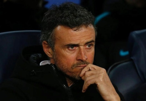 Luis Enrique is very excited about the great win over PSG