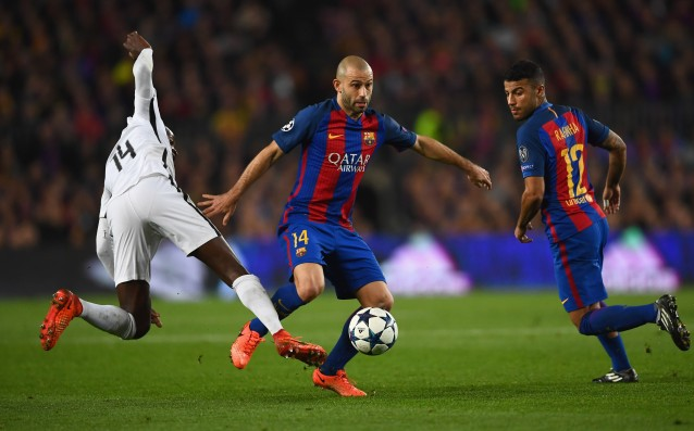 Mascherano admitted: 'There was a penalty for PSG.'