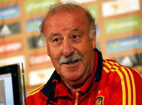 Del Bosque is working at the Spanish Football Federation?