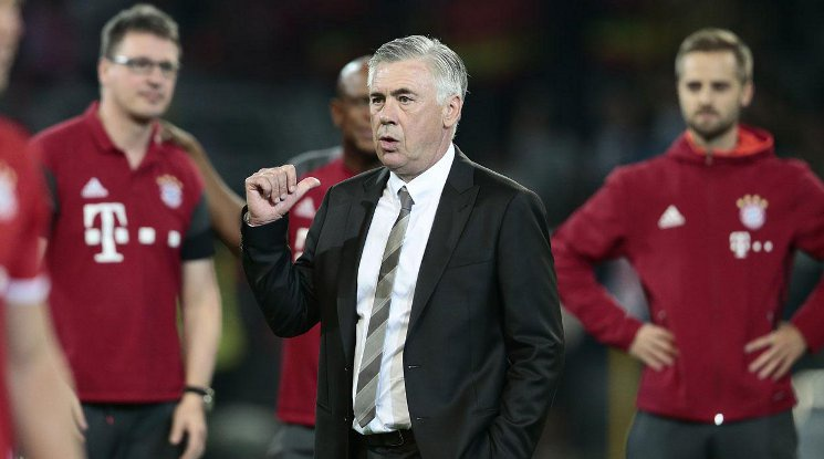 Ancelotti is excited to be back in Madrid