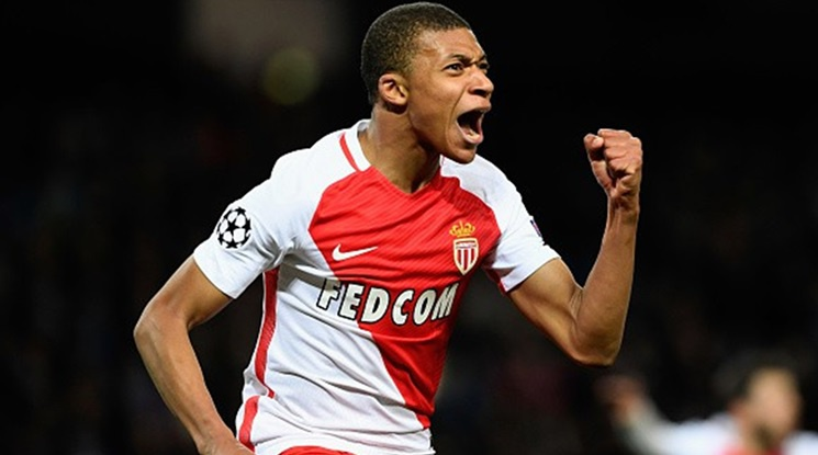 Mbappé was estimated at 120 million euros
