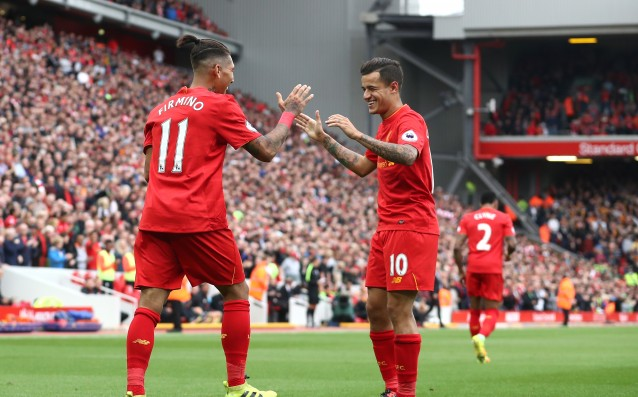 Liverpool is sending a private jet for Coutinho and Firmino