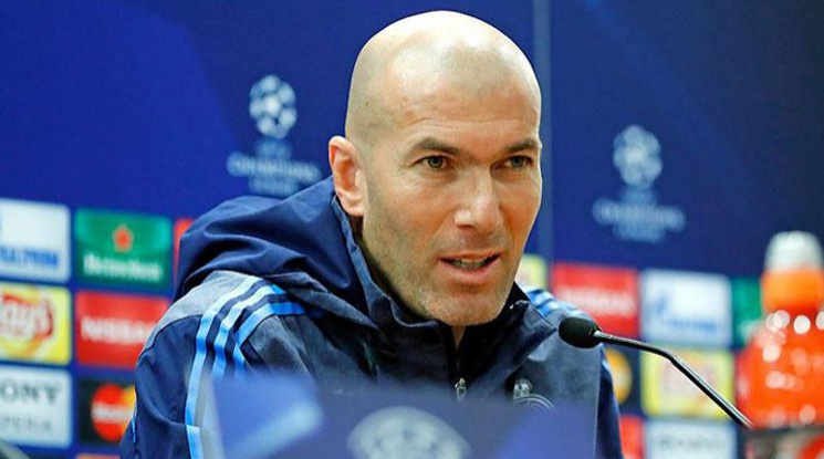 Zidane thinks the judging decisions have influenced the result of the game vs. Bayern