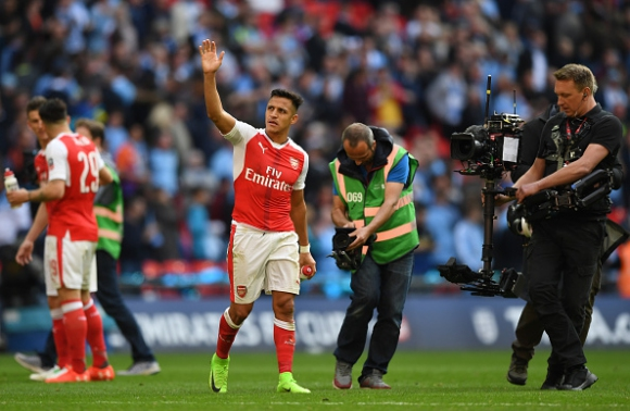 Wenger: 'Alexis is an animal, he will be here next year!'