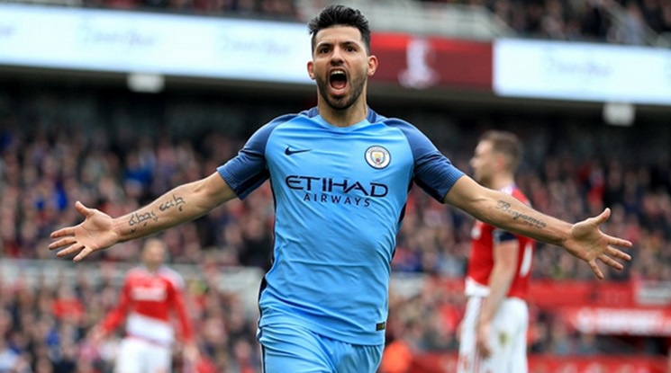 City will be without Aguero for the rest of the season