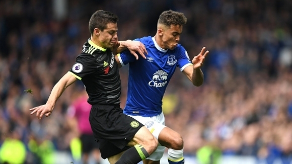 Calvert-Lewin signed a new contract with Everton