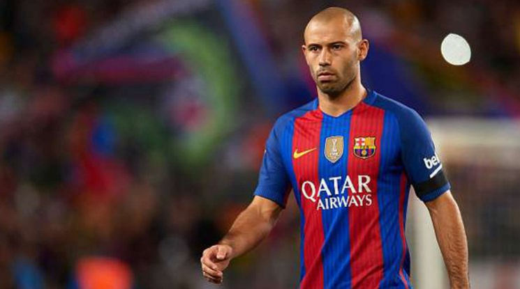 Mascherano will be out until the end of the season