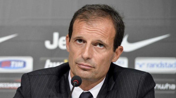 Allegri got injured in a charity game