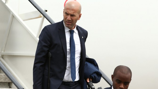Zidane put his son in the squad