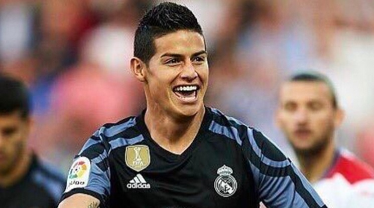 Real Madrid is selling James