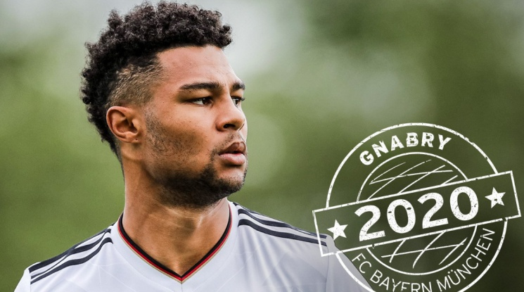 Serge Gnabry joined Bayern Munich