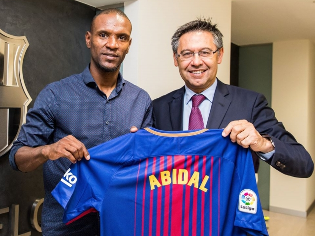Abidal became an ambassador of Barcelona