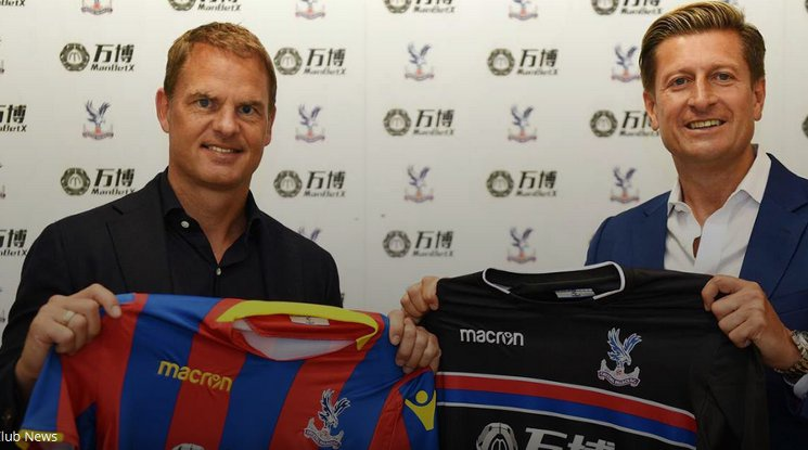 Frank de Boer became the mentor of Crystal Palace