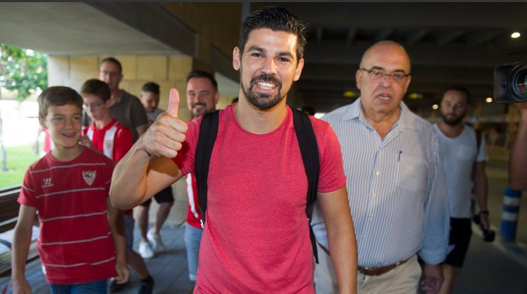 Sevilla has drawn Nolito