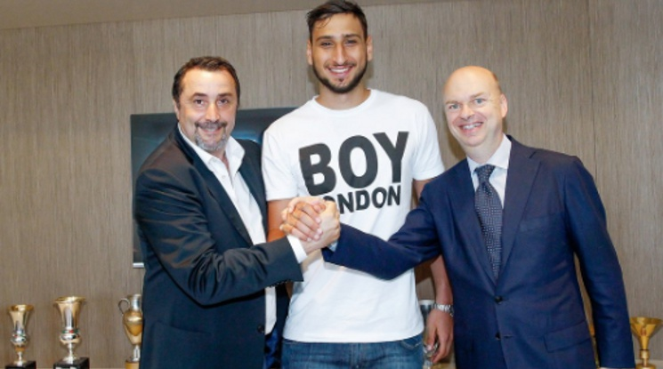 Donnarumma has re-signed his contract with Milan