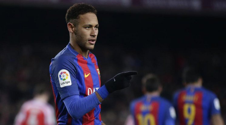 Neymar is staying at Barcelona