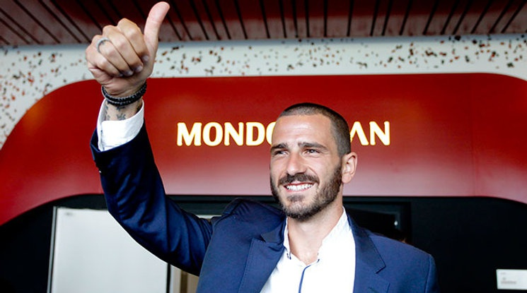 Milan has officially presented Bonucci