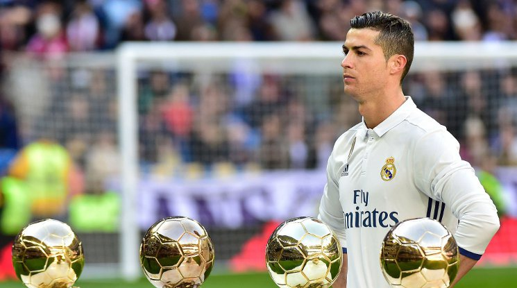 Ronaldo: 'I want to win the Golden Ball again!'