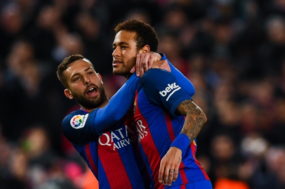 Alba: 'Neymar is happy at Barcelona!'