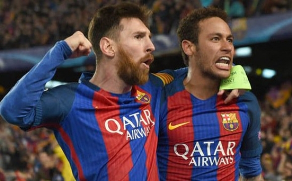 Messi said goodbye to Neymar with a video