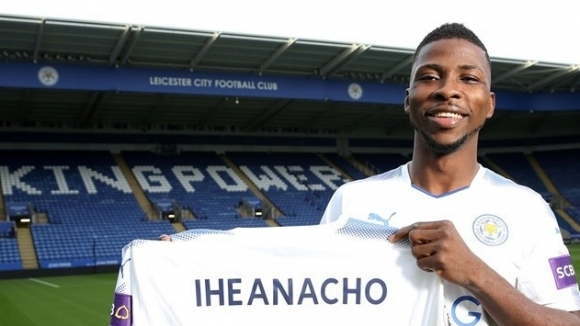Iheanacho officially joined Leicester