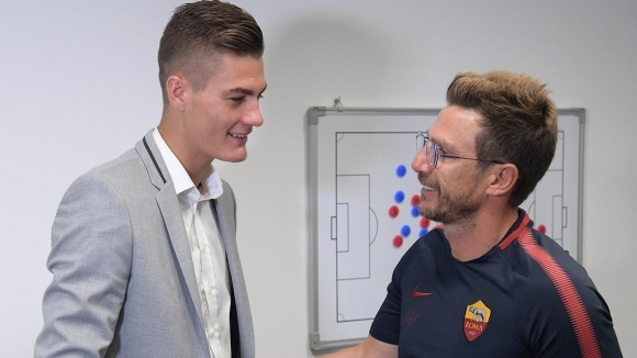Schick joined Roma