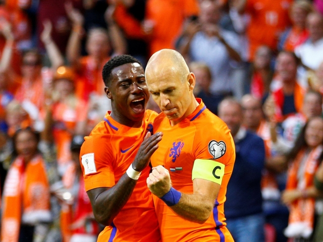 Arjen Robben overcame Cruyff in terms of goals scored for the Dutch team