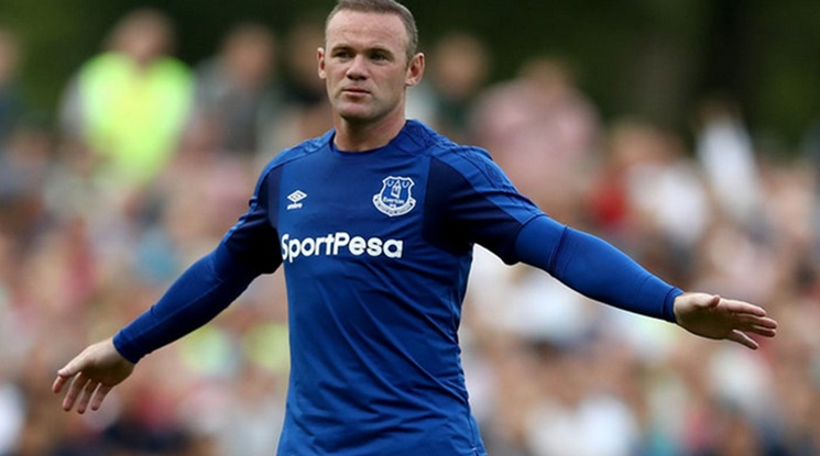 Rooney was sanctioned by Everton