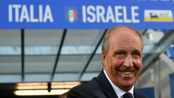The Italian fans are joking with Ventura