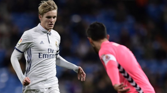 Real Madrid renewed the contract of Martin Odegaard