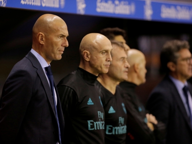 Zidane with one more recognition for his work