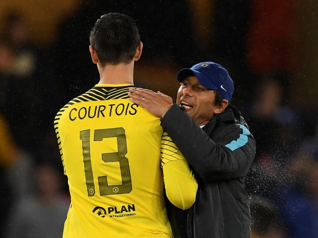 Courtois is the second goal to make an assist