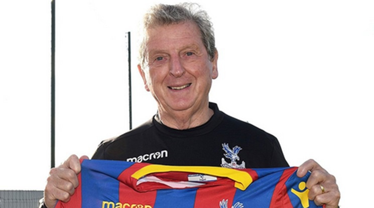 Roy Hodgson is the new manager of Crystal Palace