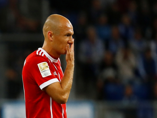 Robben will skip the game against Schalke